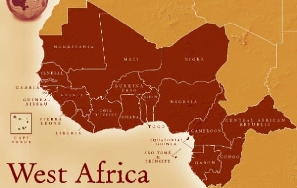 Map Of Africa With Countries And Capitals.Lists Of West African Countries And Their Capitals West African
